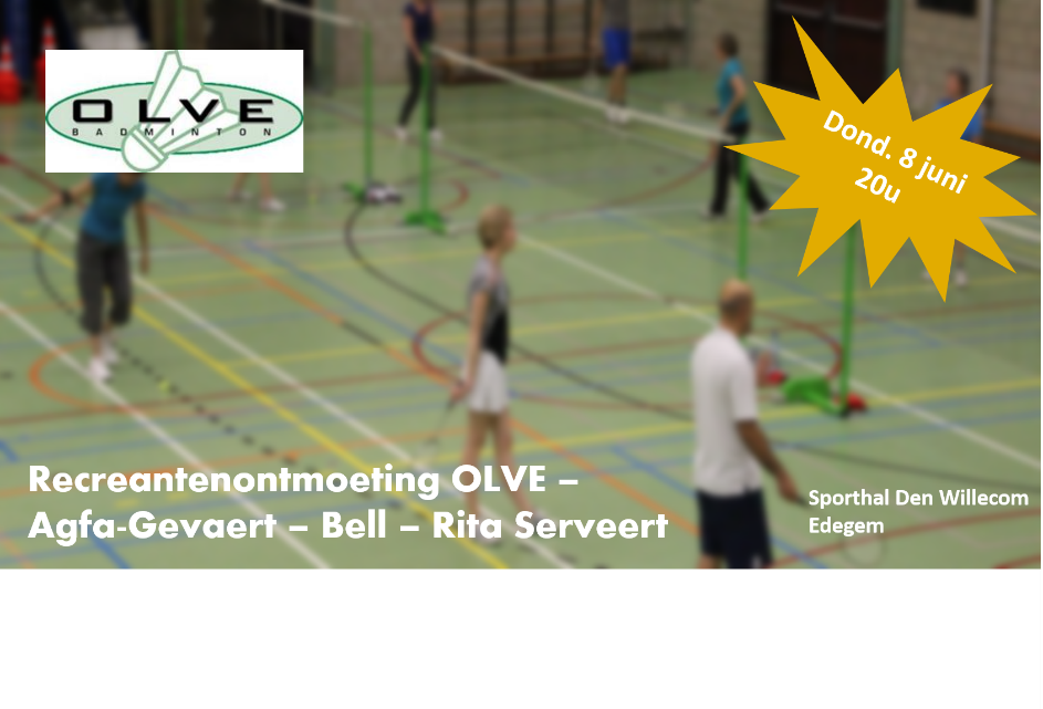 Recreantenontmoeting OLVE 2017